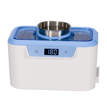 Multi-function mini portable jewelry makeup brush denture ultrasonic cleaner CDS-310