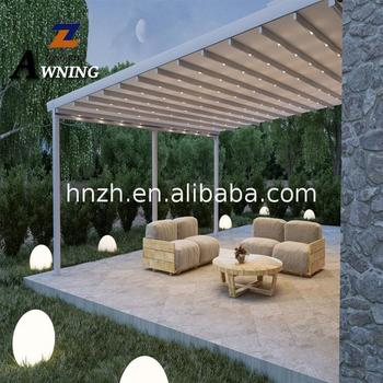 Hot new products Motorised Awnings Retractable Roof Pergola Awning Original