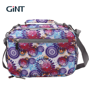 Children'S Portable Waterproof TPU Water Bottle Packing Lunch Box Bag Printed Shoulder Ice Cooler Bag