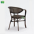 teslin fabric hotel outdoor furniture chair with aluminum frame E8101