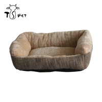 Amazon Large pet bed modern sofa dog bed,foldable pet bed for large dogs,custom removable pillow pet dog bed