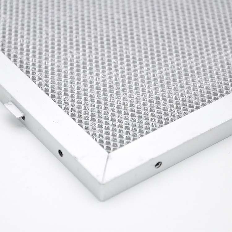 Replacement New Model Cooker Hoods Aluminum Mesh Filter For Smoke