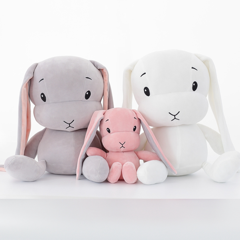 Cute 25CM 55CM 70CM Stuffed &amp;Plush <strong>Rabbit</strong> Plush Toy Baby Toys Baby Accompany Sleep Toy Gifts For Kids