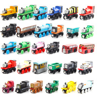 Amazon Hotsale Wooden Thomas toys, Wooden Magnetic Small Train, children's Wooden Thomas Wooden Railway Toy for kids