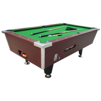 KBL-B903 7ft Slate+MDF pool table with auto ball return system