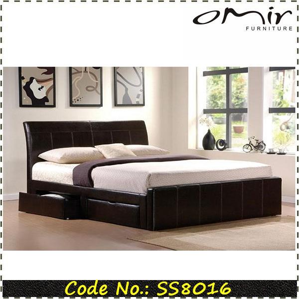 Ikea estilo cama de cuero de hotel camas identificaci n - Camas de ikea ...
