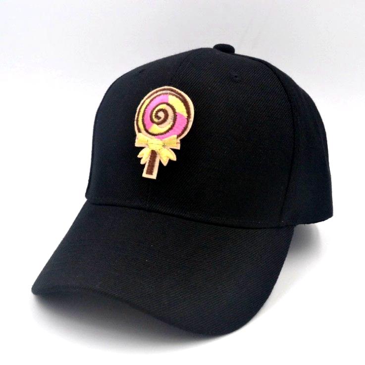 a97631d43 De moda nuevo Lollipop parche bordado de algodón Italia gorra de béisbol  para hombres y mujeres
