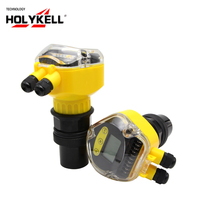 Holykell 5m to 60m Water Depth Measurement Ultrasonic Water Tank Level Meter