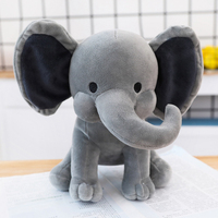 2020 valentines OEM toys soft elephant toy stuffed plush animal custom plush toy