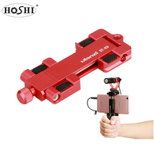 HOSHI Ulanzi ST-03 <span class=keywords><strong>Aluminium</strong></span> Mobiele <span class=keywords><strong>Statief</strong></span> Mount met Hot Shoe Mount voor Boya Reed VideoMicro Microfoon 1/4 ''<span class=keywords><strong>Statief</strong></span> Klem