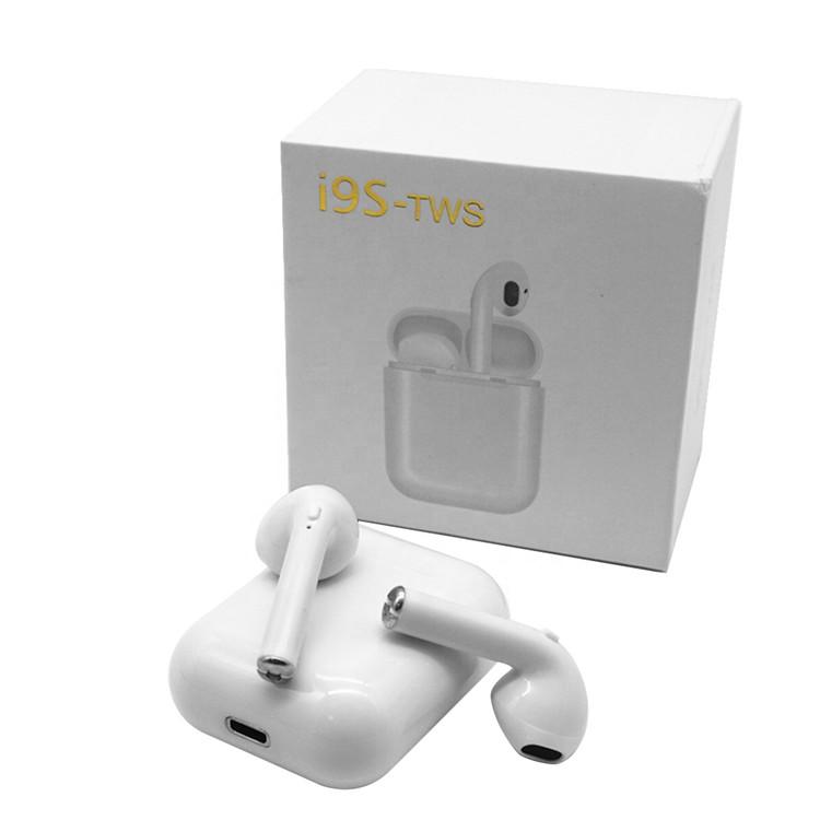 Mini i9s TWS Wireless Headphones BT 5 0 Binaural Call in-Ear