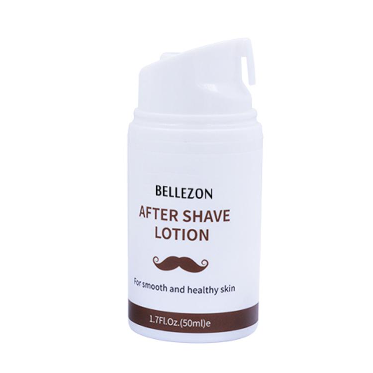 FDA Genehmigt OEM Angepasst Männer Pflege Lotion Feuchtigkeitsspendende Und Erfrischend Nach der Rasur