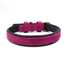 Groothandel Comfortabele Pet Wear Training Lederen Halsband