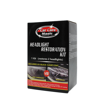 CAR CARE MAGIC HEADLIGHT RESTORATION KIT for car care and cleaning