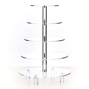 Acrylic Tiered Cake Stand - Dessert or Cupcake Tower