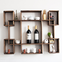 TOP SALE easy handle wooden rack show pieces for home decoration