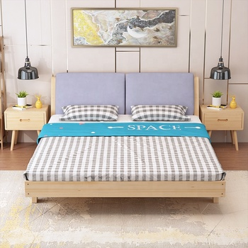 Indian Bedroom Furnished With Solid Wood Double Bed - Buy Wood Double Bed  Designs Price,Double Bed For Children,Indian Double Bed Designs Product on  ...