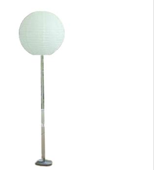 Round Paper Lampshade Floor Lamp