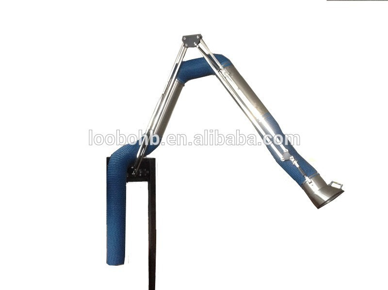 Wall Mount Welding Fume Extractor : Welding fume extractor exhaust arms with wall mounted