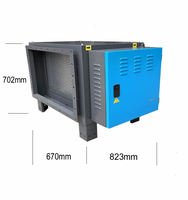 6000m3/h low power consumption electrostatic air cleaner