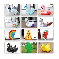 Giant inflatable product colored swan/inflatable pool float for swimming pool/inflatable large toys float product