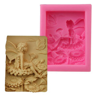 2019 New Elf silicone soap mold silicone fondant mold cake decoration tools