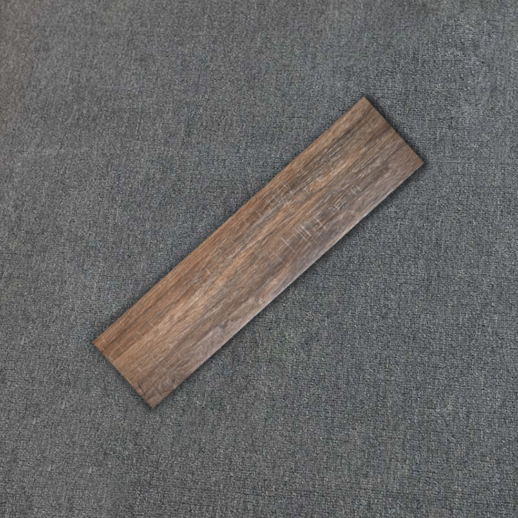 Keep Clean 150X600 Porcelain Wood Texture Flooring Tile For Bedroom