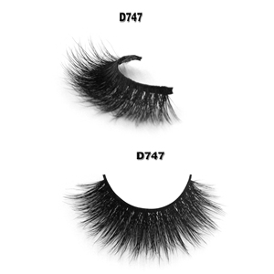 China suppliers cotton and clear band customized label 3d individual mink eyelashes