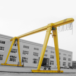 single girder 25 ton wheel gantry cranes sale