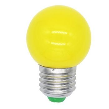 1W PC cover E27 B22 decoration with belt light led colour bulb