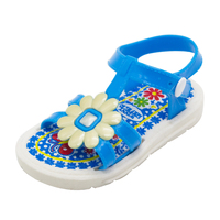 2019 New Design Cartoon Pictures Children Shoes Girls Flat Fancy Sandals