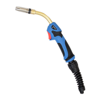 MIG 24 gas cooled Co2 welding torch with Various Cable Length copper core ac power cable wire