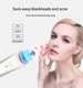 multi-function IPL beauty tool for nose blackhead remover suction with display