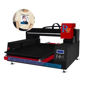 A1 60*90cm digital flatbed t-shirt printer shopping bag printer machine