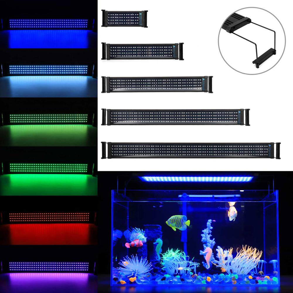 Multi Chip LED Lamp Light For Aquarium Fish Tank High Power 100W Blue+White