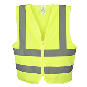Custom High Visibility And High Reflective Construction Workers Safety Clothing 2 Inch Reflective Strip High Reflective vest
