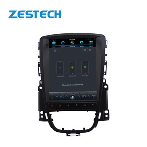"ZESTECH Android 7.1 12.1"" tesla style Vertical screen car radio gps navigation for Opel Astra car multimedia player"