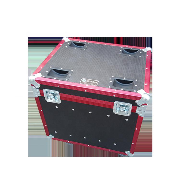 Red 6 LED Panel Flight Case Road con accesorios Penn Elcom