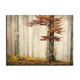 Autumn Trees Natural Scenery Modern Prints Canvas Wall Painting