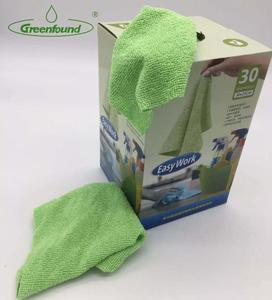 disposable mop wipes Multi-purpose Microfiber Household Cleaning Cloth Cleaning Towel Grab a Rag 30PK