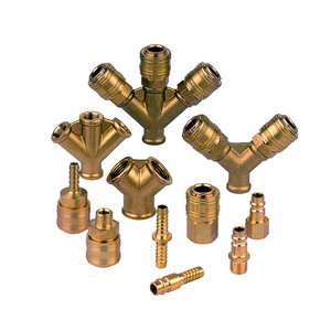 brass Euro standard German type quick couplings , all kinds of DN 7.2 quick coupler and plug