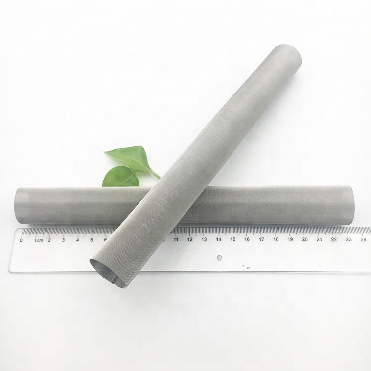 Food grade stainless steel 304 316 woven stintered mesh filter tube for water well <strong>filtration</strong>
