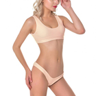 wholesale tank bikini swimsuit on line shop supplier mix color solid thong