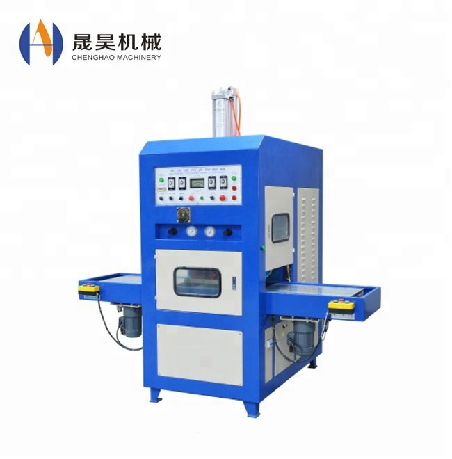 High quality of Shuttle tray High frequency powder puff <strong>welding</strong> and forming machine