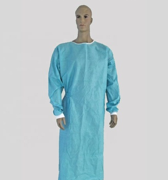 Hospital Medical Non-woven Disposable High Quality Doctor Surgical Gown
