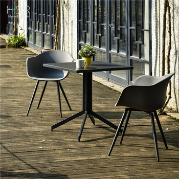 Cheap restaurant dining table chair bistro and dining  sets