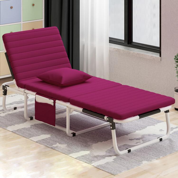 Wholesale cheap price portable steel metal folding single safa bed on bedroom/office