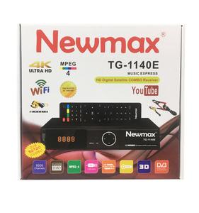 Universal Decoder tv Newmax dvb t2 s2 combo auto biss key powervu digital  satellite receiver