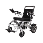 Outdoor travel economic ultralight portable folding power electric wheelchair