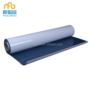 Custom Large Soft Magnetic Write And Wipe Board / Roll Up Magnetic Self Adhesive Whiteboard Film